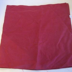 Accessories - Solid Maroon 100% Silk Long Scarf Sz 14 x 60 NWNT